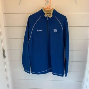 Men's Columbia XL pullover University of Kentucky.